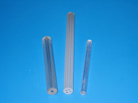 Capillaries and multi-channel tubes for thermocouple covers