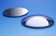 Si meniscus and plano-convex lenses